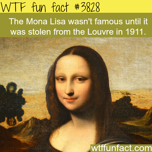 The Mona Lisa - WTF fun facts