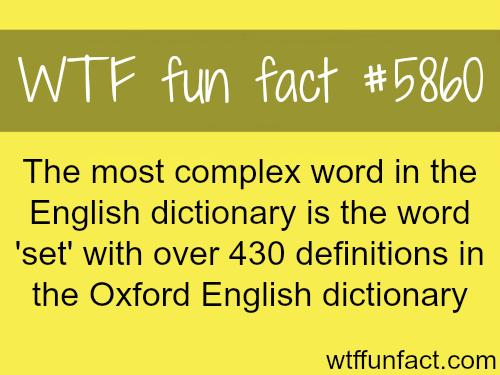 The most complex English word - WTF fun facts