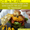 the most expensive burger in the world wtf fun