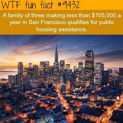 The most expensive city in the U.S. - WTF fun fact