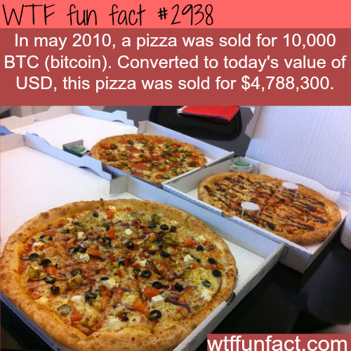 The most expensive pizza in the world -  WTF fun facts