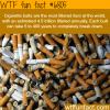 the most littered item in the world wtf fun fact
