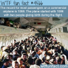 the most passengers on a commercial airplane