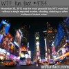 the most peaceful day in nyc wtf fun facts