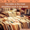 the most shoplifted book wtf fun facts
