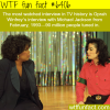 the most watched interview on tv wtf fun facts