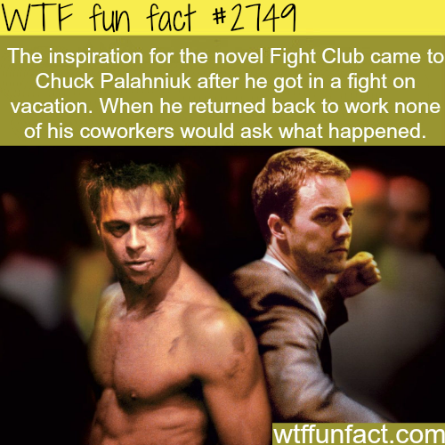 The Movie Fight Club Inspiration - WTF fun facts