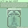the negro motorist green book wtf fun facts
