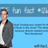 the notebook movies facts