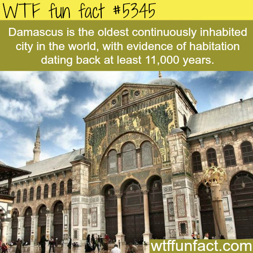 The oldest city in the World - WTF fun facts