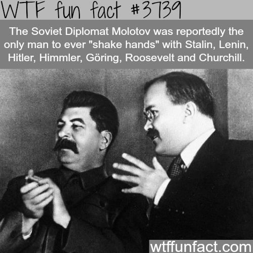 The only man to shake hands with Hitler