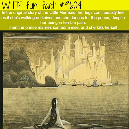 The original story of the Little Mermaid - WTF fun fact