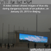 the pollution in beijing china wtf fun facts