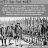 the prussian king bred tall men for his army wtf