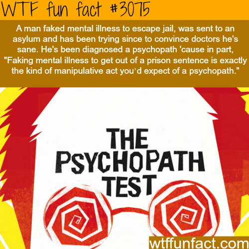 The psychopath test -  WTF fun facts