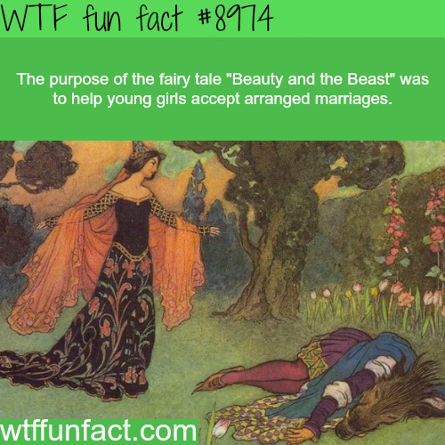 "The purpose of ""Beauty and the Beast"" - WTF fun fact"