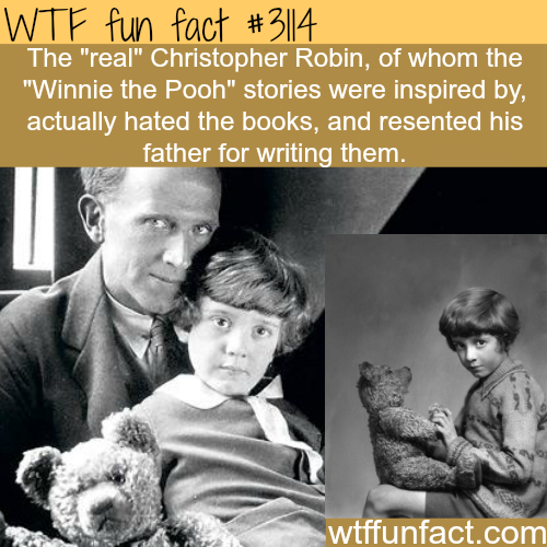 """The real Christopher Robin of """"Winnie the Pooh"""" -WTF fun facts"""