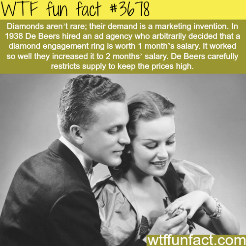 The real worth of Diamonds? -  WTF fun facts