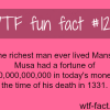 the richest man ever