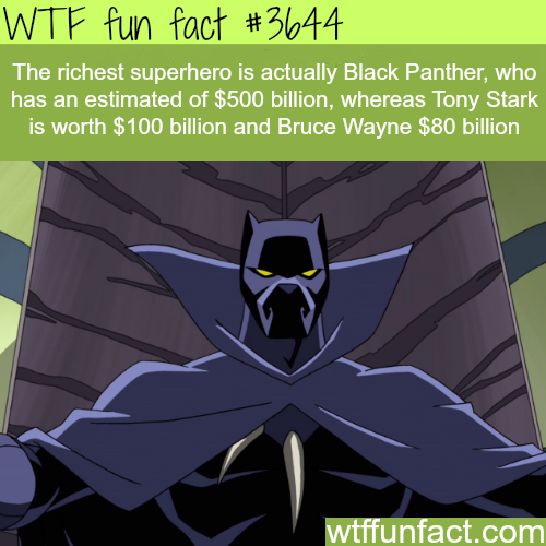 The richest superhero is not Tony Stark or Bruce Wayne -  WTF fun facts