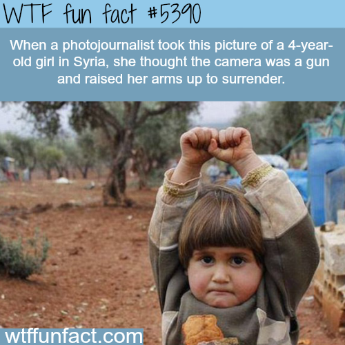 The saddest photograph from the Syrian civil war - WTF fun facts