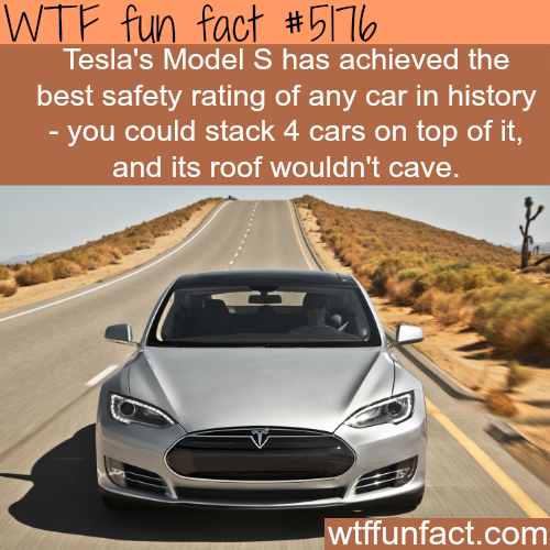 The safest car in the world - WTF fun facts