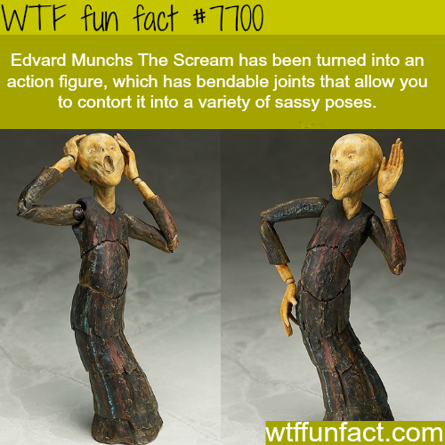 The Scream toy - WTF FUN FACTS
