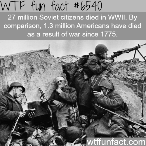 The Soviet's rule in WW2 - WTF fun facts