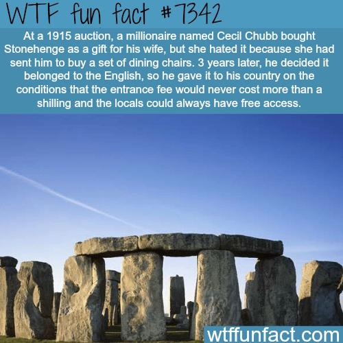The Stonehenge - WTF fun fact