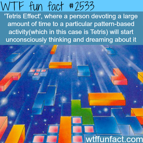 """The """"Tetris effect"""" -WTF funfacts"""