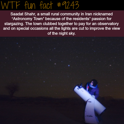 The Town of Saadat Shahr in Iran - WTF fun fact