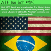 the united states of brazil wtf fun facts
