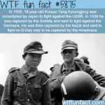 the unluckiest soldier in history wtf fun facts