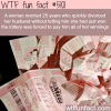 the unlucky winner of a lottery wtf fun facts