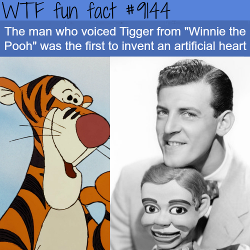 """The Voice Actor for Tigger from """"Winnie the Pooh""""- WTF Fun Facts"""
