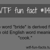 the word bride