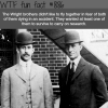 the wright brothers wtf fun fact