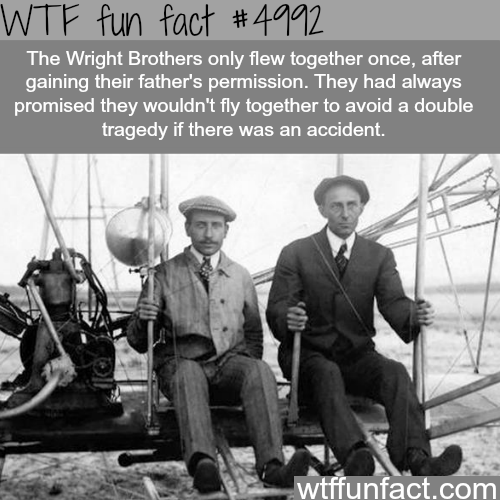 The Wright Brothers - WTF fun facts