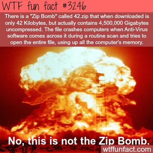 """The """"Zip Bomb"""""""