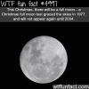 there will be full moon this christmas wtf fun