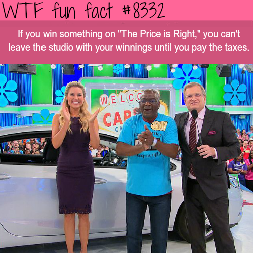 Thing you don't know about The Price is Right  - WTF fun facts
