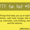 things that keep you up at night