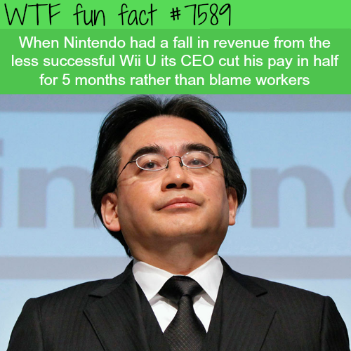 This CEO took a pay cut instead of blaming workers - WTF fun facts