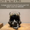 this helmet costs 400000 wtf fun facts