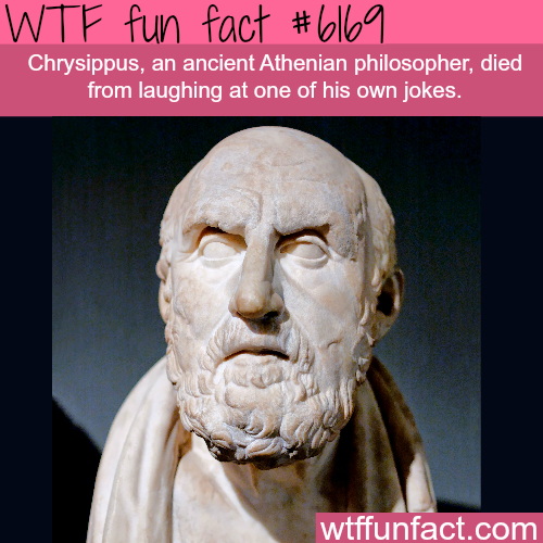 This man died from laughing at his own joke - WTF fun facts