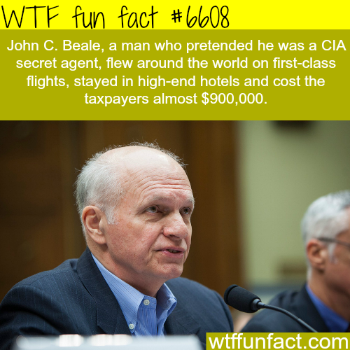 This man pretended that he was a CIA secret agent - WTF fun facts
