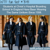 this school had the same uniform for 500 years
