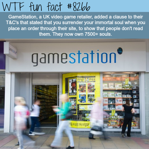 This UK company owns 7500 souls - WTF fun facts