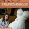 this wedding dress wtf fun facts
