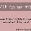 thomas edison facts